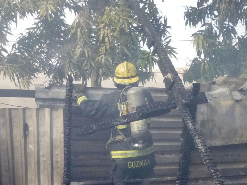 Resultado de imagen para fuego destruye casa