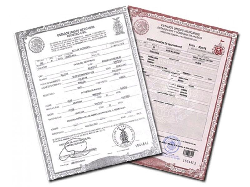 Registro de actas extemporáneas en Tijuana